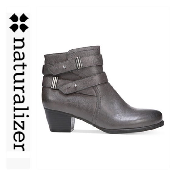 Naturalizer Gray Schuhes   Sale Gray Naturalizer Kepler Ankle Booties   Poshmark 966440